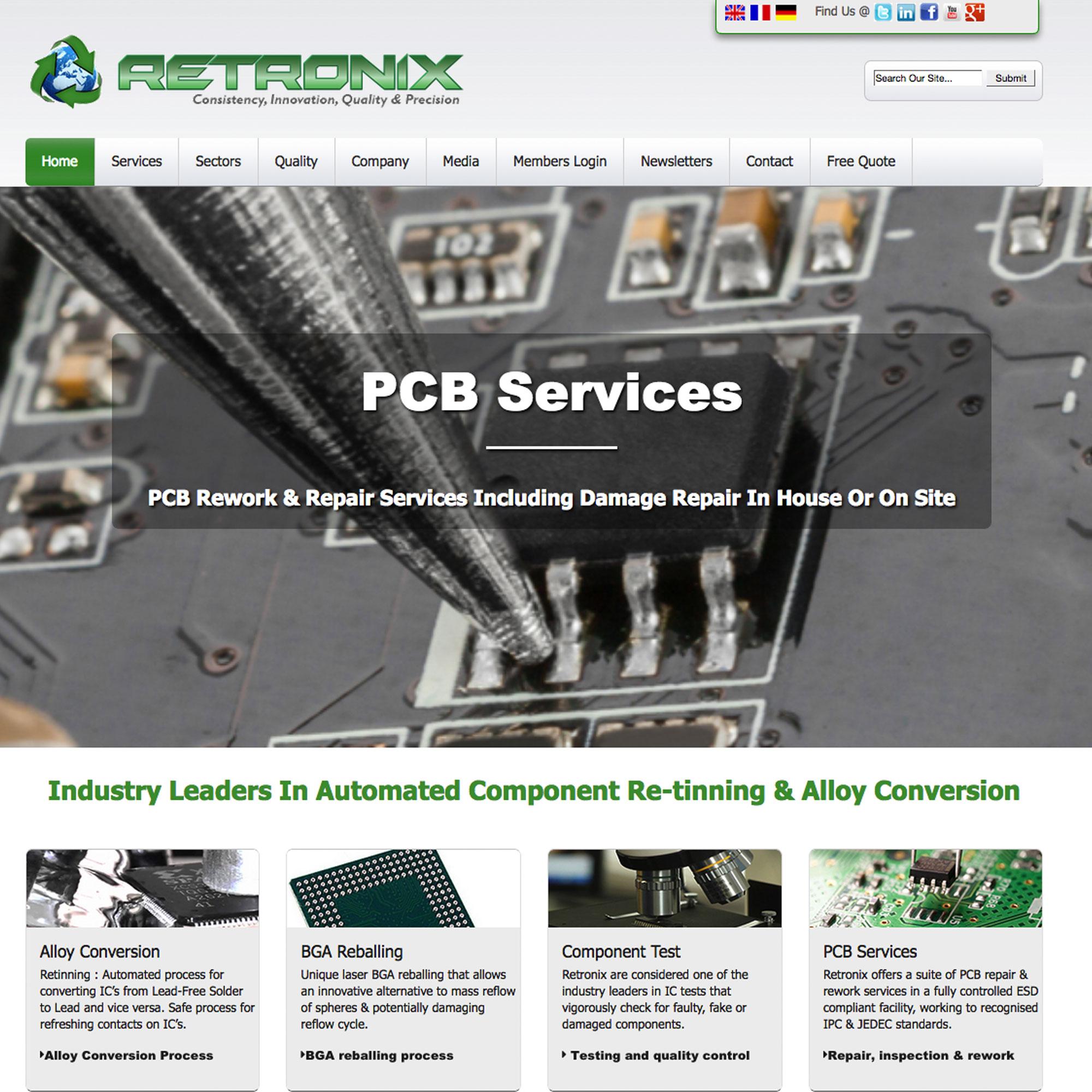 Retronix PCB