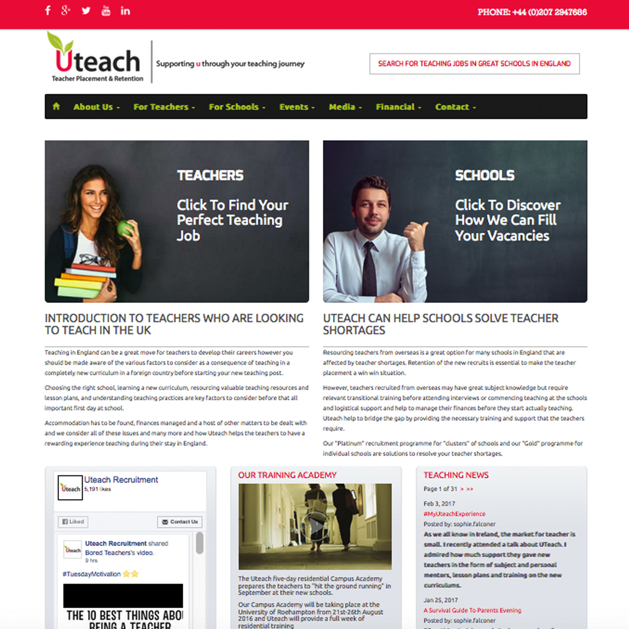 Uteach Recruitment